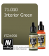Vallejo Model Air: Interior Green (17ml)