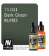 Vallejo Model Air: Dark Green RLM83 (17ml)