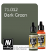 Vallejo Model Air: Dark Green (17ml)