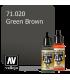 Vallejo Model Air: Green Brown (17ml)