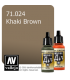 Vallejo Model Air: Khaki Brown (17ml)