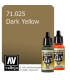 Vallejo Model Air: Dark Yellow (17ml)