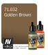 Vallejo Model Air: Golden Brown (17ml)