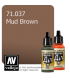 Vallejo Model Air: Mud Brown (17ml)