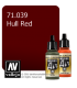 Vallejo Model Air: Hull Red (17ml)