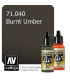 Vallejo Model Air: Burnt Umber (17ml)