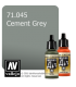Vallejo Model Air: Cement Grey (17ml)
