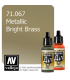 Vallejo Model Air: Bright Brass (Metallic) (17ml)