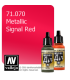 Vallejo Model Air: Signal Red (Metallic) (17ml)