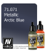 Vallejo Model Air: Arctic Blue (Metallic) (17ml)