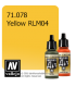 Vallejo Model Air: Yellow RLM04 (17ml)