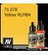 Vallejo Model Air: Yellow RLM04 (17ml)