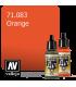 Vallejo Model Air: Orange (17ml)