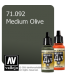 Vallejo Model Air: Medium Olive (17ml)