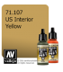 Vallejo Model Air: US Interior Yellow (17ml)