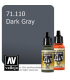 Vallejo Model Air: Dark Gray (17ml)