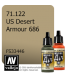Vallejo Model Air: US Desert Armour 686 (17ml)