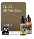 Vallejo Model Air: US Field Drab (17ml)
