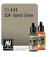 Vallejo Model Air: IDF Sand Grey (17ml)
