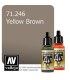 Vallejo Model Air: Yellow Brown (17ml)