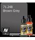 Vallejo Model Air: Brown Grey (17ml)