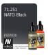 Vallejo Model Air: NATO Black (17ml)