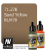 Vallejo Model Air: Sand Yellow RLM79 (17ml)