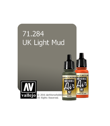 Vallejo Model Air: UK Light Mud (17ml)