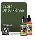 Vallejo Model Air: US Dark Green (17ml)
