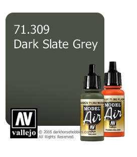 Vallejo Model Air: Dark Slate Grey (17ml)