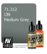 Vallejo Model Air: IJN Medium Grey (17ml)