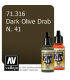 Vallejo Model Air: N. 41 Dark Olive Drab (17ml)