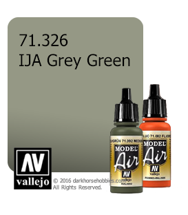 Vallejo Model Air: IJA Grey Green (17ml)