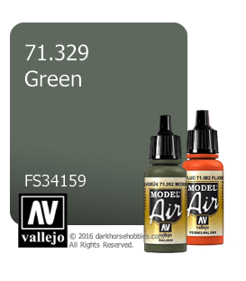 Vallejo Model Air: Green (17ml)