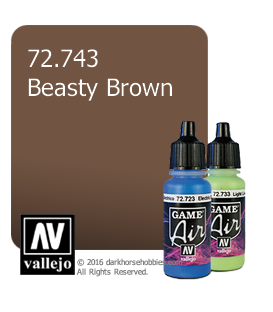 Vallejo Game Air: Beasty Brown (17ml)