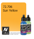 Vallejo Game Air: Sun Yellow (17ml)
