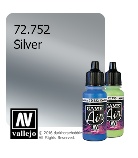 Vallejo Game Air: Silver (17ml)