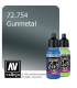 Vallejo Game Air: Gunmetal (17ml)
