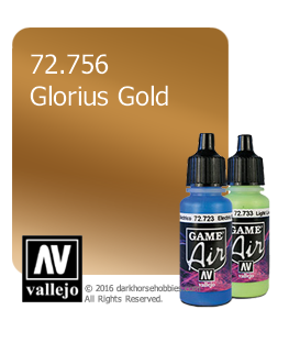 Vallejo Game Air: Glorious Gold (17ml)