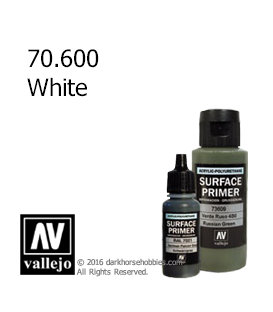 Vallejo Surface Primer: White (17ml)