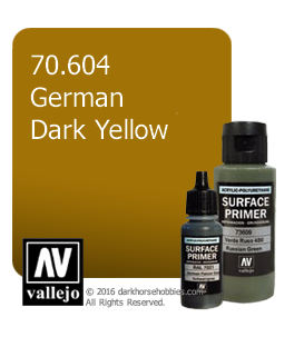 Vallejo Surface Primer: German Dark Yellow (17ml)
