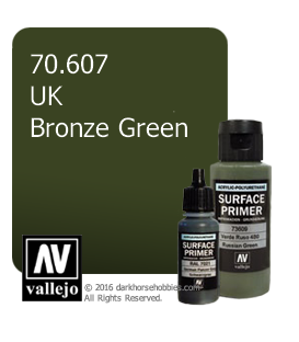 Vallejo Surface Primer: U.K. Bronze Green (17ml)