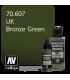 Vallejo Surface Primer: U.K. Bronze Green (17ml)