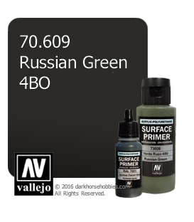 Vallejo Surface Primer: Russian Green 4BO (17ml)