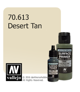 Vallejo Surface Primer: Desert Tan (17ml)