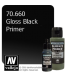 Vallejo Metal Color: Gloss Black Primer (32ml)