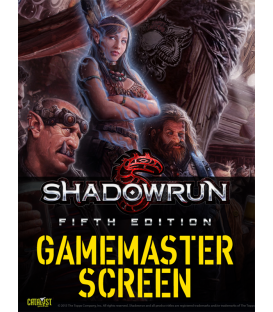 Shadowrun RPG 5th Edition: GM Screen (cover)