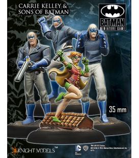 Batman Miniatures: Carrie Kelley & Sons Of Batman
