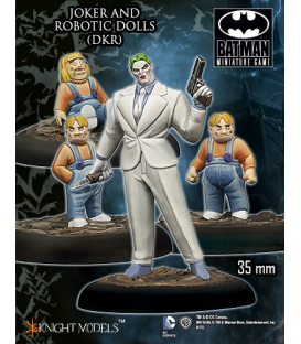 Batman Miniatures: Joker & Robotic Dolls
