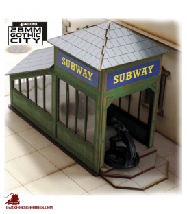Gothic City: Subway Entrance